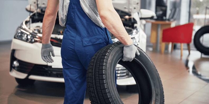 Montering af dæk og fælge - Dækopbevaring og dækhotel