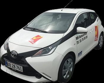 Skadecenter - Bilpleje - Biludlejning - Diesel/hybrid Center - Salg af brugte biler - Billån - Motorkontor/nummerpladeoperatør