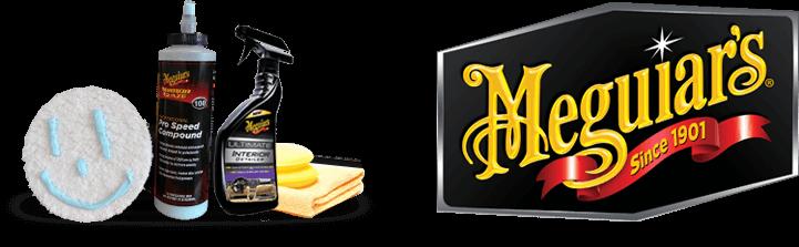 Bilpleje produkter fra Meguiars